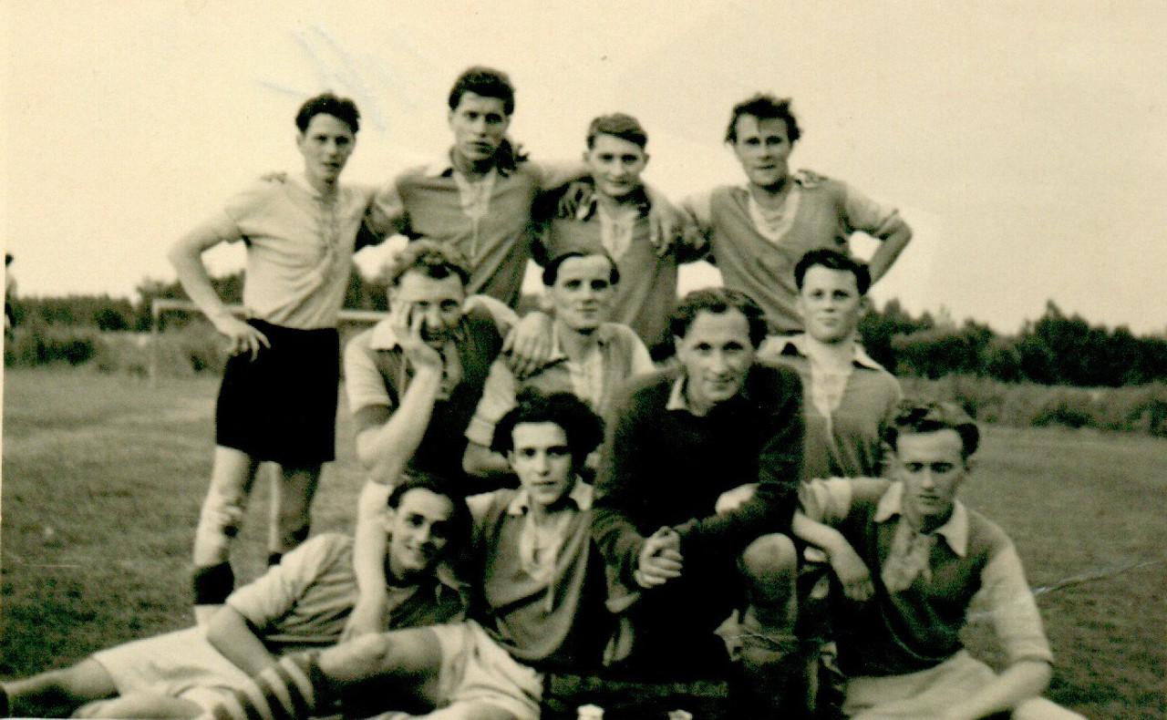 Mannschaft aus den 57er Jahren.