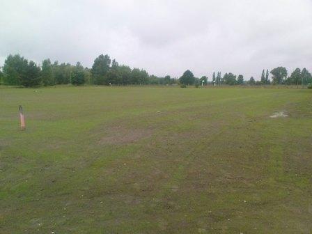 Rasen wurde eingesäht